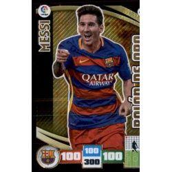 Leo Messi Balón De Oro Adrenalyn XL 2015-16