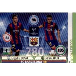 Messi - Neymar Double Trouble Adrenalyn XL 2014-15