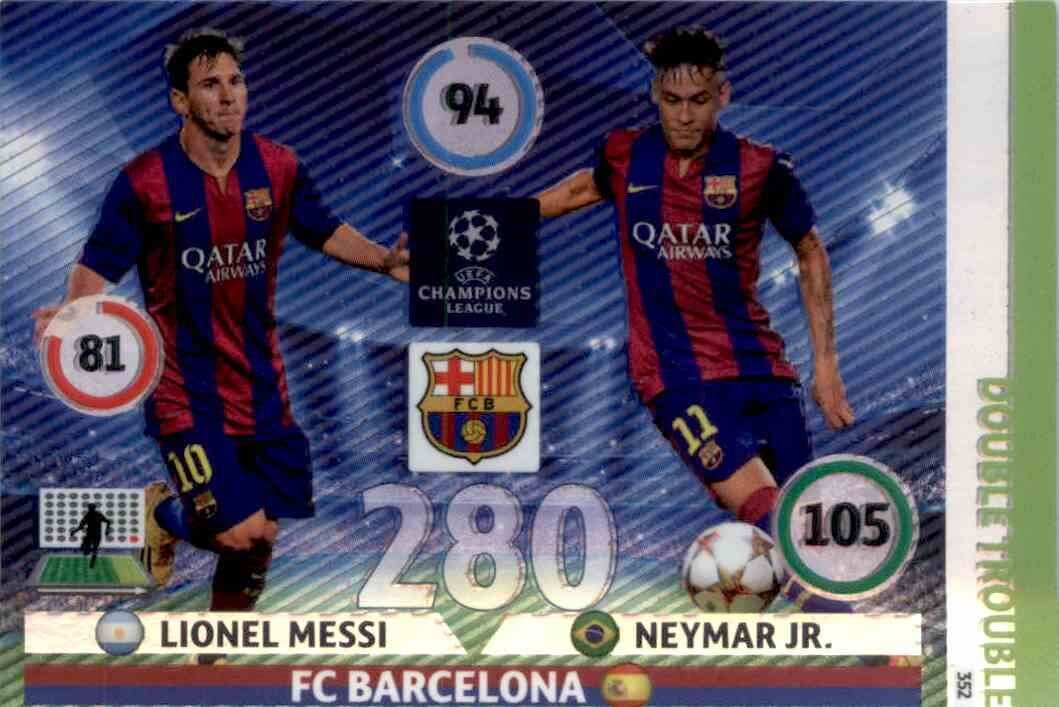 Adrenalyn XL Champions League 2014//15 Lionel Messi Master Card-FC Barcelone