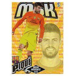 Piqué Mega Héroes Barcelona 368Megacracks 2013-14