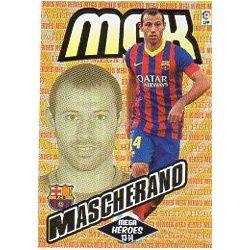 Mascherano Mega Héroes Fichas Bis Barcelona 367 BisMegacracks 2013-14