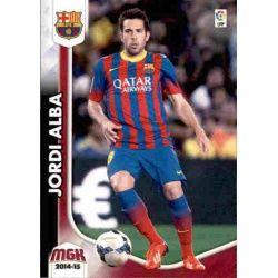 Jordi Alba Barcelona 61 Megacracks 2014-15