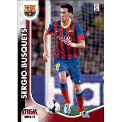 Sergio Busquets Barcelona 63 Megacracks 2014-15