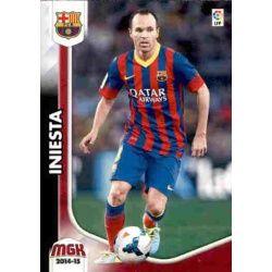 Iniesta Barcelona 65 Megacracks 2014-15
