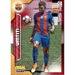 Umtiti Barcelona 91Megacracks 2016-17