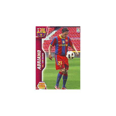 Adriano Nuevos Fichas 455 Megacracks 2010-11
