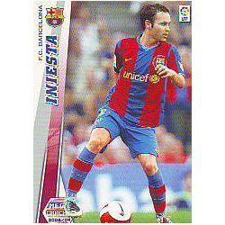 Iniesta Barcelona 66 Megacracks 2008-09