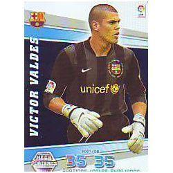 Victor Valdés Mega Porteros Barcelona 402 Megacracks 2008-09