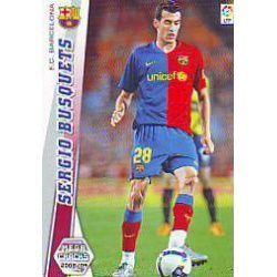 Sergio Busquets Nuevas Fichas Bis Barcelona 68 Bis Megacracks 2008-09