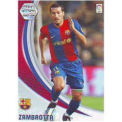 Zambrotta 61 Megacracks 2007-08