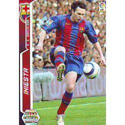 Iniesta Barcelona 67 Megacracks 2005-06