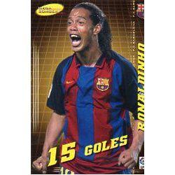 Ronaldinho Mega Estrellas Barcelona 405 Megacracks 2004-05