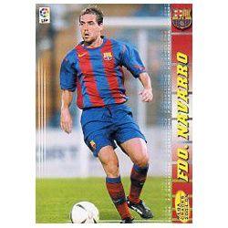 Fernando Navarro Nuevas Fichas Bis Barcelona 70 Megacracks 2004-05
