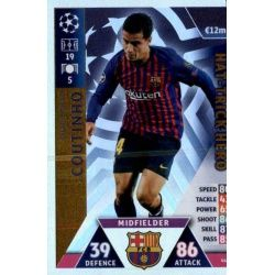 Philippe Coutinho Hat-Trick Hero 442 Match Attax Champions 2018-19