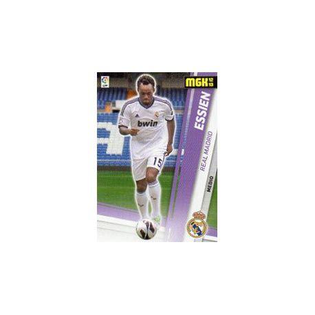 Essien Fichas Bis Real Madrid 191 Bis Megacracks 2012-13