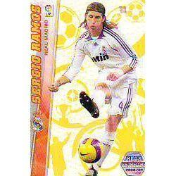 Sergio Ramos Mega Estrellas Real Madrid 364 Megacracks 2008-09