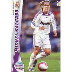 Michel Salgado Nuevas Fichas Bis Real Madrid 148 Bis Megacracks 2008-09