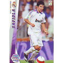 Saviola Nuevas Fichas Bis Real Madrid 161 Bis Megacracks 2008-09