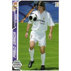 Pablo Garcia Real Madrid 193 Megacracks 2005-06