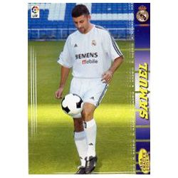 Samuel Real Madrid 167 Megacracks 2004-05