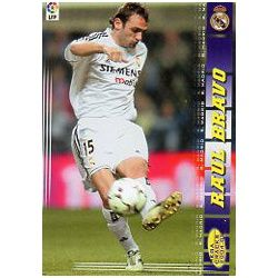 Raul Bravo Real Madrid 169 Megacracks 2004-05