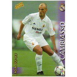 Cambiasso Nuevo Fichaje Real Madrid 406 Megafichas 2002-03