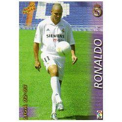 Ronaldo Nuevo Fichaje Real Madrid 425 Megafichas 2002-03