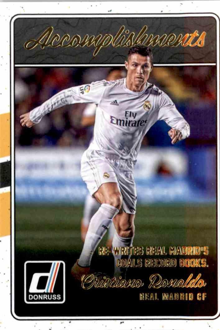 Panini Donruss Soccer 16//17 ronaldo cr7 base trading card real madrid München
