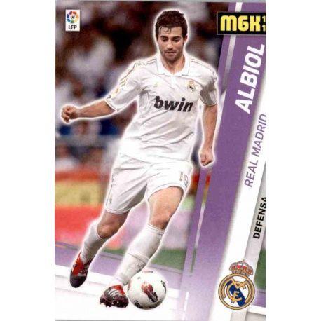 Albiol Real Madrid 186 Megacracks 2012-13