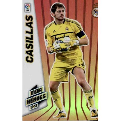 Casillas Mega Héroes Real Madrid 364 Megacracks 2012-13