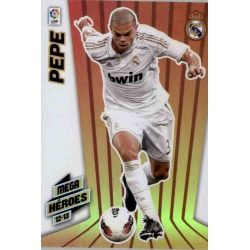 Pepe Mega Héroes Real Madrid 377 Megacracks 2012-13