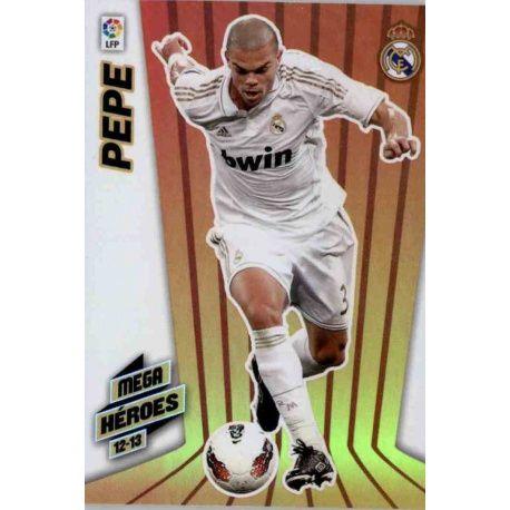 Pepe Mega Héroes Real Madrid 377 Megacracks 2012-13