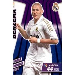 Benzema Mega Bombers Real Madrid 407 Megacracks 2012-13