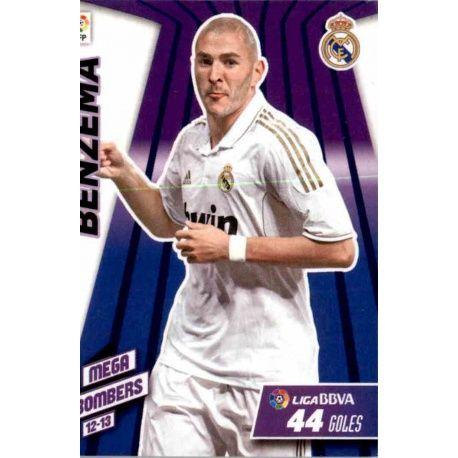 Benzema Mega Bombers Real Madrid 407 Megacracks 2012-13