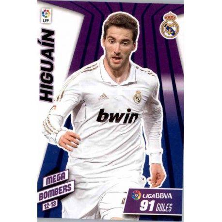 Higuaín Mega Bombers Real Madrid 411 Megacracks 2012-13