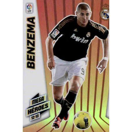 Benzema Mega Héroes Real Madrid 362 Megacracks 2012-13