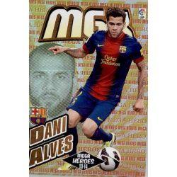 Dani Alves Mega Héroes Barcelona 365Megacracks 2013-14