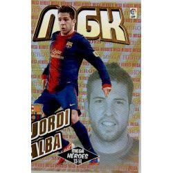 Jordi Alba Mega Héroes 2013-14