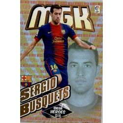 Sergio Busquets Mega Héroes Barcelona 378Megacracks 2013-14