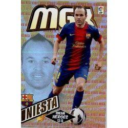 Iniesta Mega Héroes Barcelona 389Megacracks 2013-14