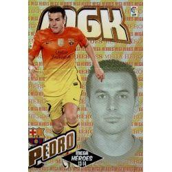 Pedro Mega Héroes Barcelona 392Megacracks 2013-14