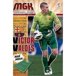 Víctor Valdés Barcelona 56 Megacracks 2013-14