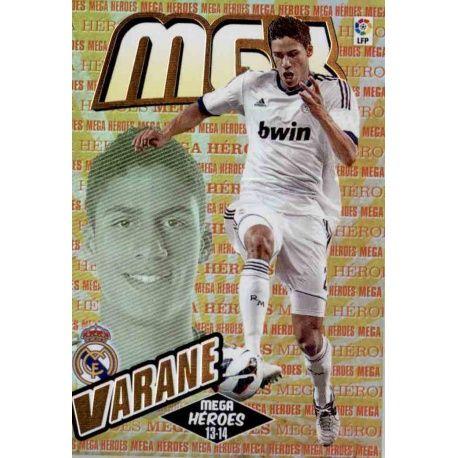 Varane Mega Héroes Real Madrid 371 Megacracks 2013-14