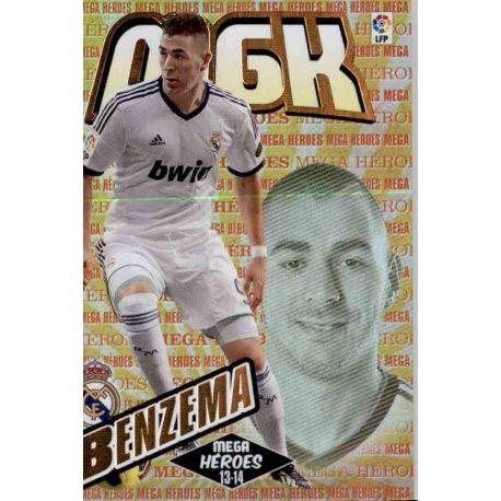 Benzema Mega Héroes Real Madrid 398 Megacracks 2013-14