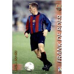 Frank De Boer Barcelona 60 Megafichas 2002-03