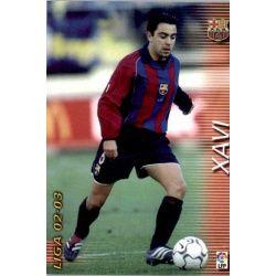 Xavi Barcelona 62 Megafichas 2002-03