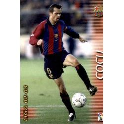 Cocu Barcelona 63 Megafichas 2002-03