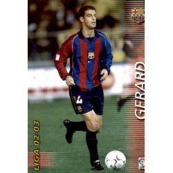 Gerard Megafichas 2002-03