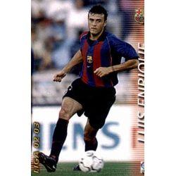 Luis Enrique Barcelona 68 Megafichas 2002-03