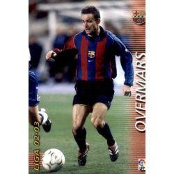 Overmars Barcelona 69 Megafichas 2002-03